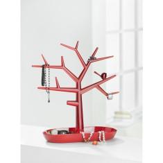 Suport bijuterii copacel Trinket Tree M rosu