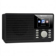 AUNA IR-160, radio prin internet, WLAN, USB, AUX, UPNP, display TFT de 2, 8