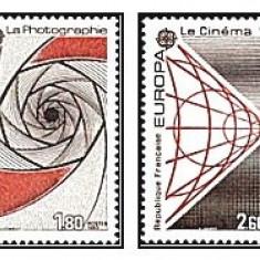 Franta 1983 - Europa, serie neuzata