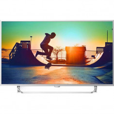 Televizor Philips LED Smart TV 55 PUS6412 139cm Ultra HD 4K Silver Ambilight cu 2 laturi
