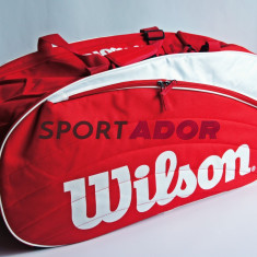 Geanta Wilson IV Duffle Tenis 78x38X29cm -produs original, factura, garantie - Geanta tenis
