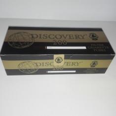 Tuburi tigari Discovery pentru injectat tutun - Foite tigari