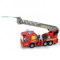 Jucarie masina de pompieri cu statie Fire Hero 34 cm 3716003 Dickie