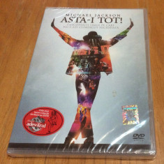 MICHAEL JACKSON - ASTA-I TOT ! ( THIS IS IT ! ) - DVD ORIGINAL SIGILAT - Muzica Pop