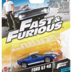 Masinuta Fast & Furious 8 Ford Gt 40 - Masinuta electrica copii Mattel