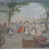 Painting Dimitre Florian(Dobosariu) - Pictor roman, Scene gen, Ulei, Impresionism