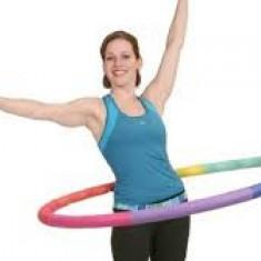 Cerc topik pentru exercitii la sol, aerobic, hula
