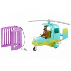 Scooby Doo Elicopter & Figurina Scooby - Vehicul