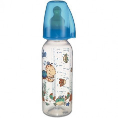 Biberon Family Boy PP 250 ml pentru Lapte NIP
