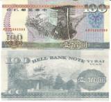 }}}  RARR :  CHINA , HELLNOTE  -  100  YUAN  ,  AB 2588  / CEA  DIN SCAN