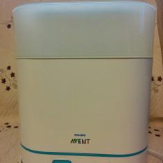 Sterilizator biberoane, cu abur, Philips SCF285 - incalzitor si sterilizator