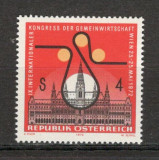 Austria. 1972 Congres international al comunitatii economice  KZ.385