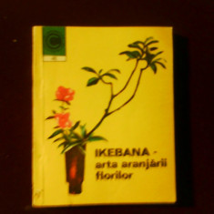 Laura Sigarteu Petrina Ikebana - arta aranjarii florilor - Carte gradinarit
