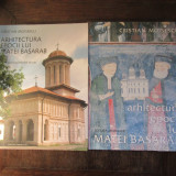 ARHITECTURA EPOCII LUI MATEI BASARAB-CRISTIAN MOISESCU ( 2 VOL) - Carte Arta populara