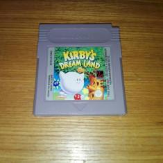 Joc Nintendo Gameboy classic/game boy advance/color Kirby's dream land - Jocuri Game Boy Altele