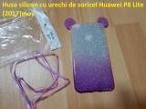 Husa silicon cu urechi de soricel Huawei P8 Lite (2017)mov, Alt model telefon Huawei