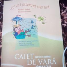 Caiet vacanta de vara clasa 5-marilena serban-art - Manual scolar art, Romana