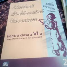 Literatura romana, limba romana, comunicare-clasa 6- Fl. Ionita- partea 2 - Manual scolar