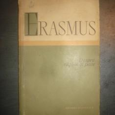 ERASMUS - DESPRE RAZBOI SI PACE {1960} - Filosofie