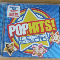 Pop Hits! (CD+DVD) Compilatie muzica