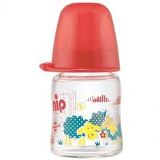 Biberon Sticla cu Gat Larg 120 ml Rosu NIP