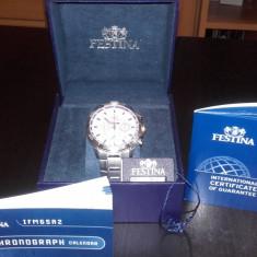 Ocazie! Ceas cronograf Festina - Ceas barbatesc Festina, Quartz