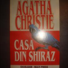 AGATHA CHRISTIE - CASA DIN SHIRAZ - Carte politiste