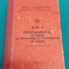REGULAMENTUL DE LUPTĂ AL INFANTERIEI ȘI VÂNĂTORILOR DE MUNTE/1976