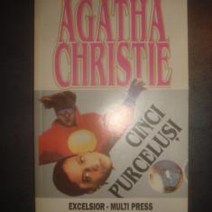 AGATHA CHRISTIE - CINCI PURCELUSI - Carte politiste