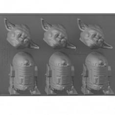 Forma Pentru Gheata Star Wars Yoda And R2-D2