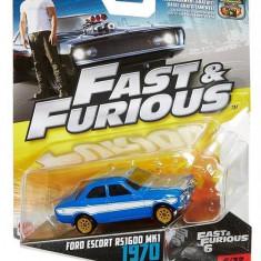 Masinuta Fast & Furious 8 Ford Escort R51600 Mk1 1970 - Masinuta electrica copii Mattel