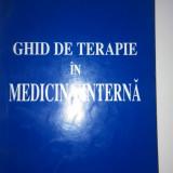 Ghid de terapie în medicina internă