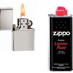 Bricheta imitatie Zippo + benzina zippo - Bricheta Cu benzina
