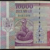 Bancnota 10000 lei - ROMANIA, anul 1994 *cod 691 - Bancnota romaneasca