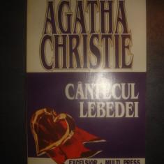 AGATHA CHRISTIE - CANTECUL LEBEDEI - Carte politiste