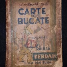SARARIU AUGUSTA, CARTE DE BUCATE