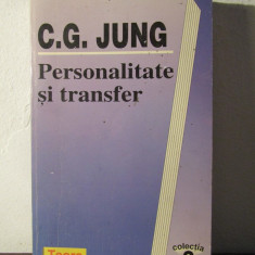 Personalitate si transfer-C.G.Jung - Carte Psihologie
