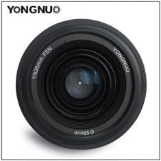 Obiectiv Yongnuo 35mm F/2 pentru montura Nikon DSLR - Obiectiv DSLR Yongnuo, Wide (grandangular), Autofocus, Nikon FX/DX