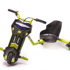 Tricicleta Electrica Freewheel Drift Trike V2 8 Inch Green