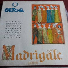 DISC VINIL RECITAL DE MADRIGALE - Muzica Clasica