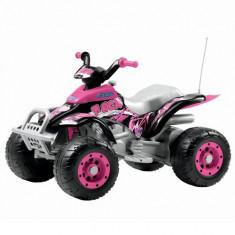ATV Corral T-Rex Roz - Masinuta electrica copii Peg Perego