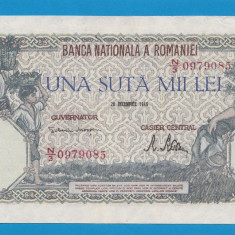100000 lei 1946 20 decembrie 29 - Bancnota romaneasca