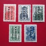 GERMANIA OCUPATIE /LETONIA 1941 SERIE=MNH, Nestampilat