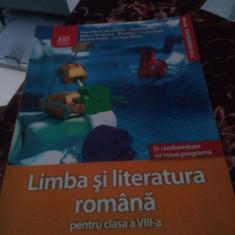 Limba si literatura romana clasa 8-Florentina Samihaian-Art - Manual scolar