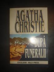 AGATHA CHRISTIE - DUPA FUNERALII foto
