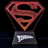 Lampa Superman Edge Acrylic Light