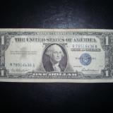 Bancnota USA 1 dolar Certificat de argint - bancnota america