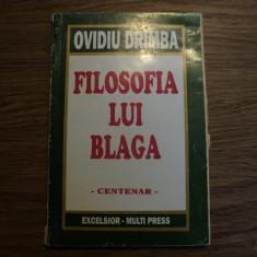 Filosofia lui Blaga de Ovidiu Drimba