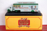 Macheta circ - Bedford OX  Booking Trailer B. Smart's scara 1:76