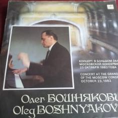 DISC VINIL OLEG BOSHNYAKOVICH - CONCERT AT THE GRAND HALL OF THE MOSCOW 2 VINIL - Muzica Clasica